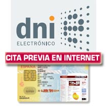 Servicio de cita previa para D.N.I. electrónico