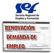 Renovación demanda de empleo