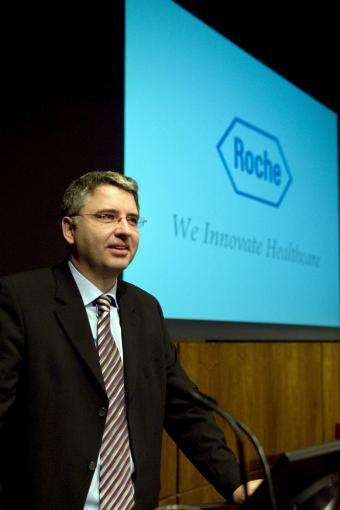 El presidente del grupo suizo Roche, Severin Schwan.- EFE