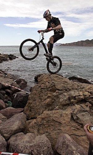 Cartagena, cuna del trial bici.
