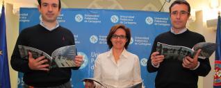 Diego Alonso, Carmen Alcaraz y Ángel Molina, a la derecha.  L.O.