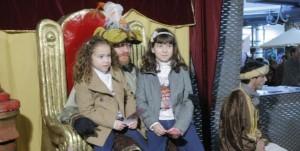 Cartero Real. Los niños entregan sus cartas PEDRO MARTÍNEZ