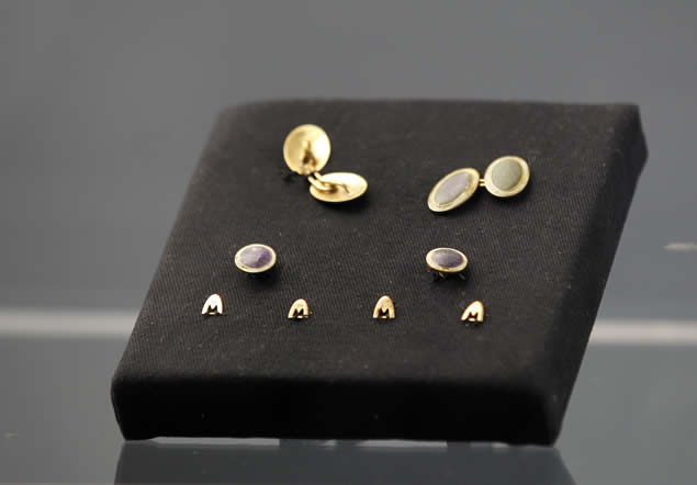 Varias joyas recuperadas del Titanic