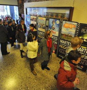 Entrada a una proyección del FICC del año 2010. :: ANTONIO GIL / AGM