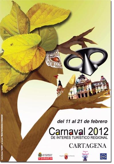 Cartel Carnaval 2012 Cartagena