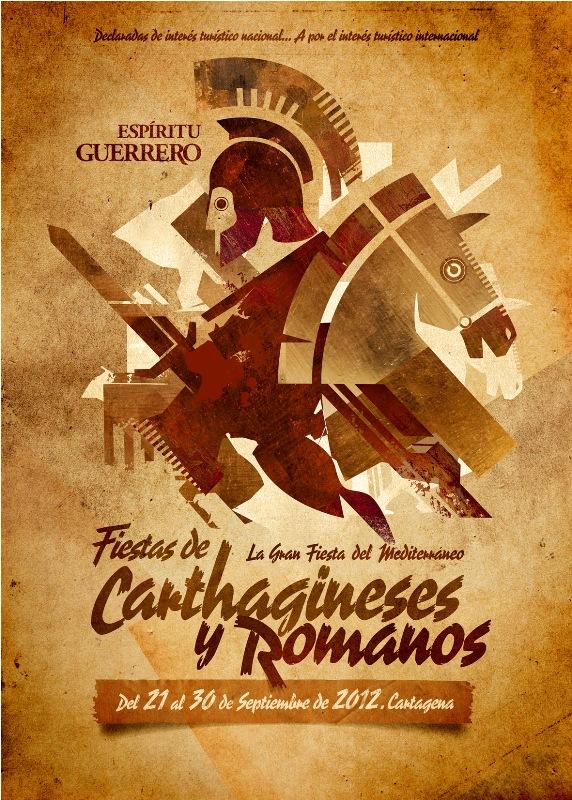 Cartel Carthagineses y Romanos 2012