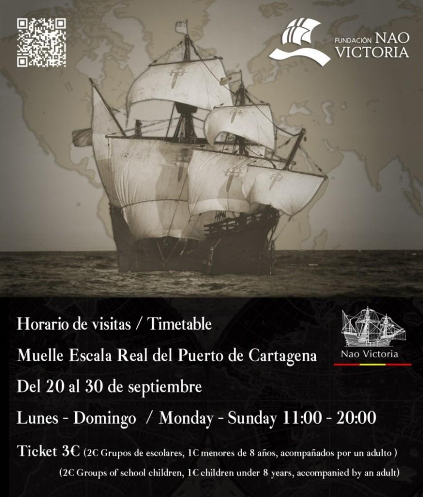 Nao Victoria transporta al cartagenero al siglo XVI