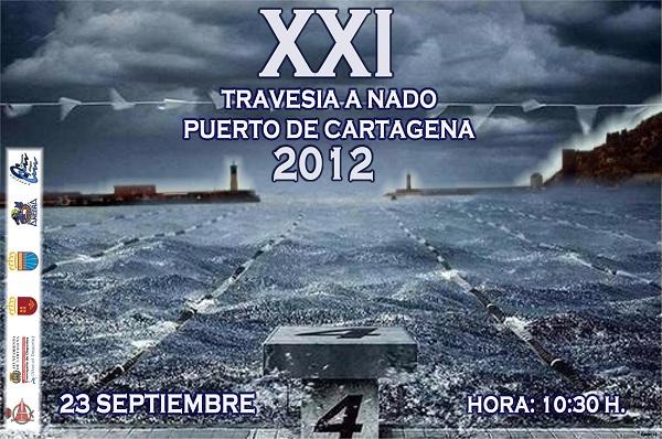 XXI Travesía a Nado del Puerto de Cartagena