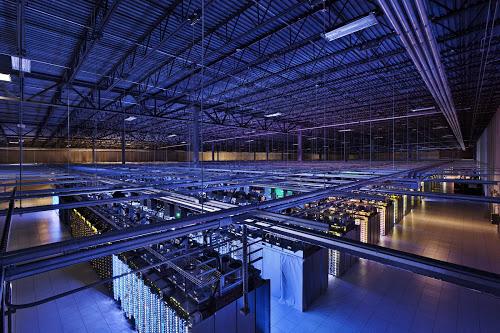 Google muestra cómo es uno de sus centros de datos