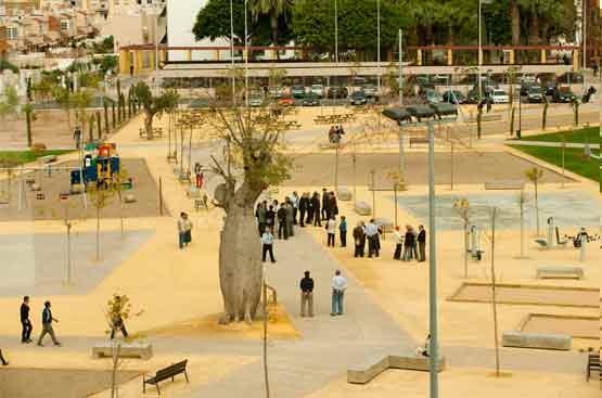 El Parque de San Ginés de la Jara, listo para el disfrute de todos los públicos