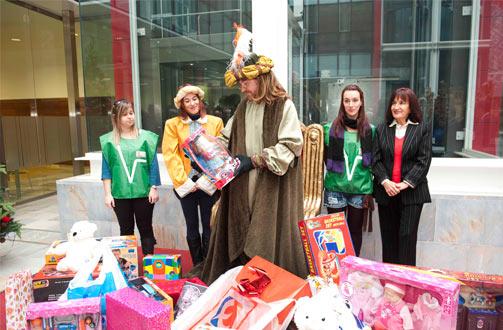 Campaña de recogida de juguetes Edificio Administrativo calle San Miguel