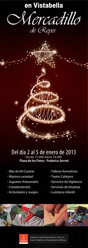 Ven y disfruta del Mercadillo de Reyes en Vistabella