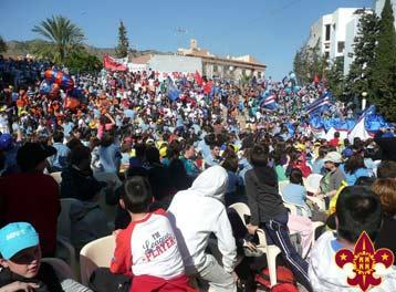 Centenario del nacimiento de la Federación Scout de Exploradores de Murcia