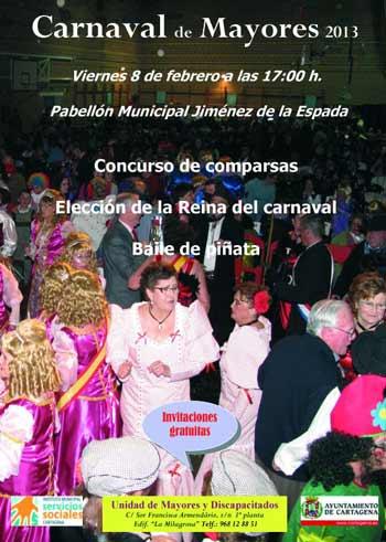 cartel Carnaval de Mayores 2013