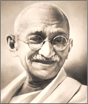 Pensador y líder del nacionalismo indio