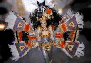 Desfile de carnaval en Cartagena 2013