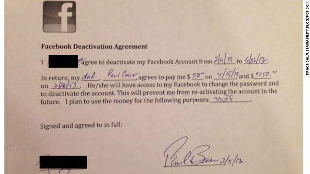 Contrato facebook