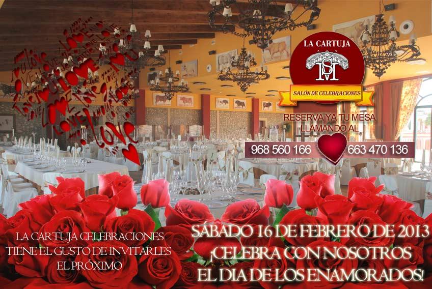 Celebra los enamorados en La cartuja de Cartagena