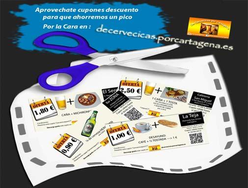 Cupones descuentos, ofertas y promociones de Cartagena