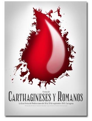 Cartel ganador de las Fiestas de Carthagineses y Romanos 2013