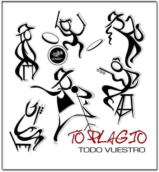 """la portada del nuevo trabajo de Toplagio  """"TODO VUESTRO"""""""