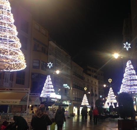 En Cartagena la iluminación navideña ya la tenemos en marcha