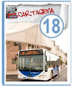 Autobuses Hospital Santa Lucia