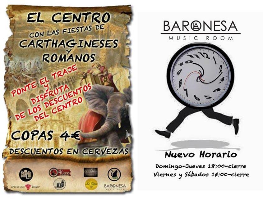Nuevo Horario La Baronesa