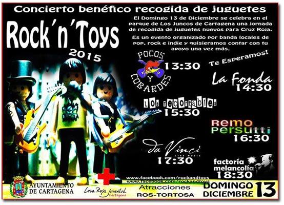 Primera edición del Rock And Toys en Cartagena
