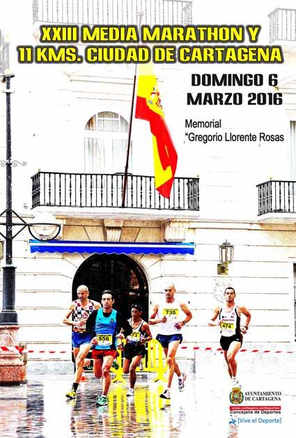 XXIII edición de la Media Marathón - Ciudad de Cartagena 2016