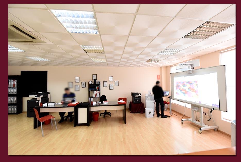 sala nuevas instalaciones soluciones inteligentes