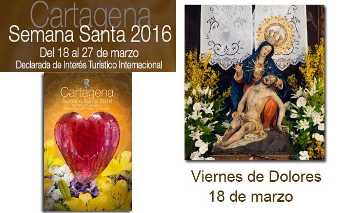 Semana Santa en Cartagena 2016