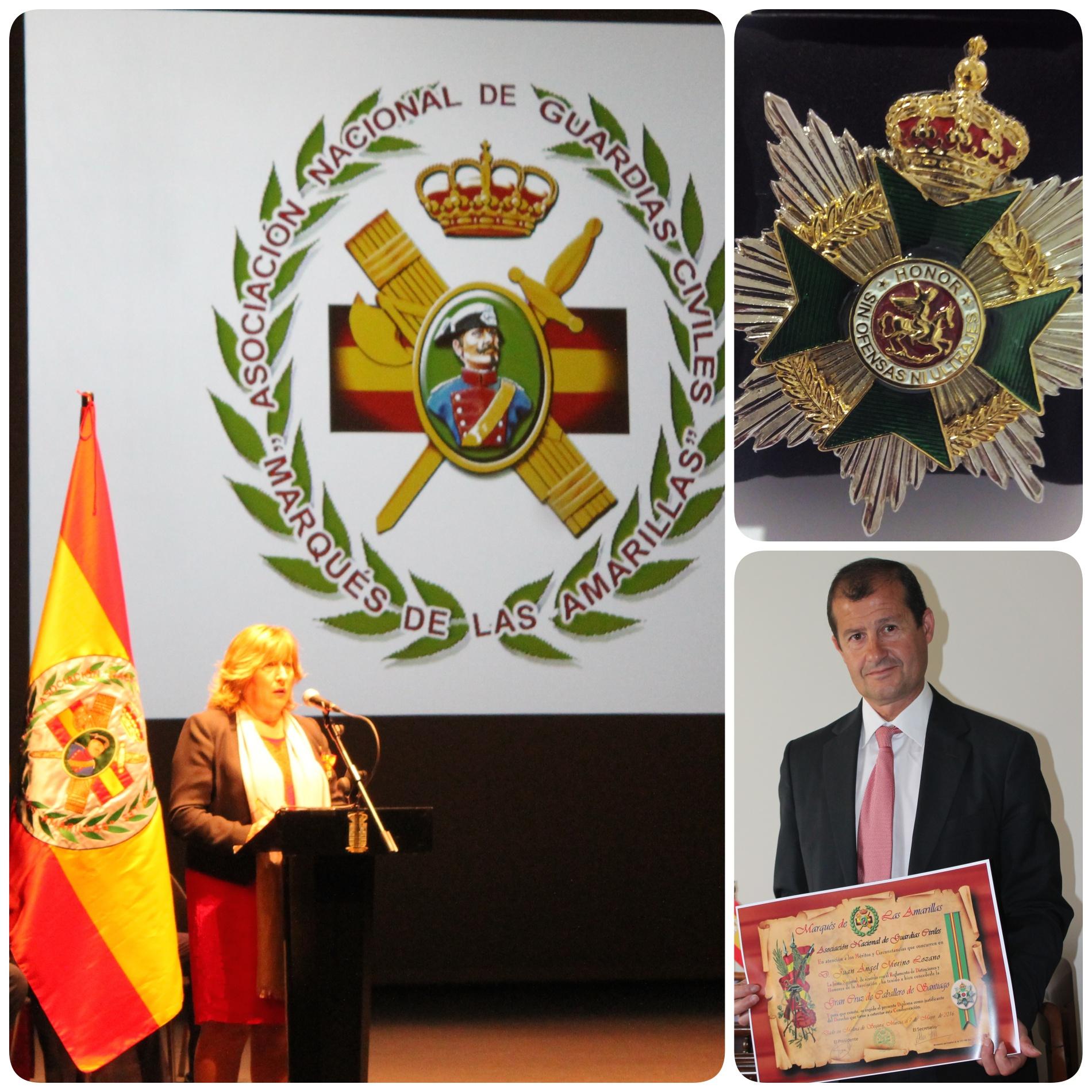 Acto entrega Gran Cruz de Caballero de Santiago