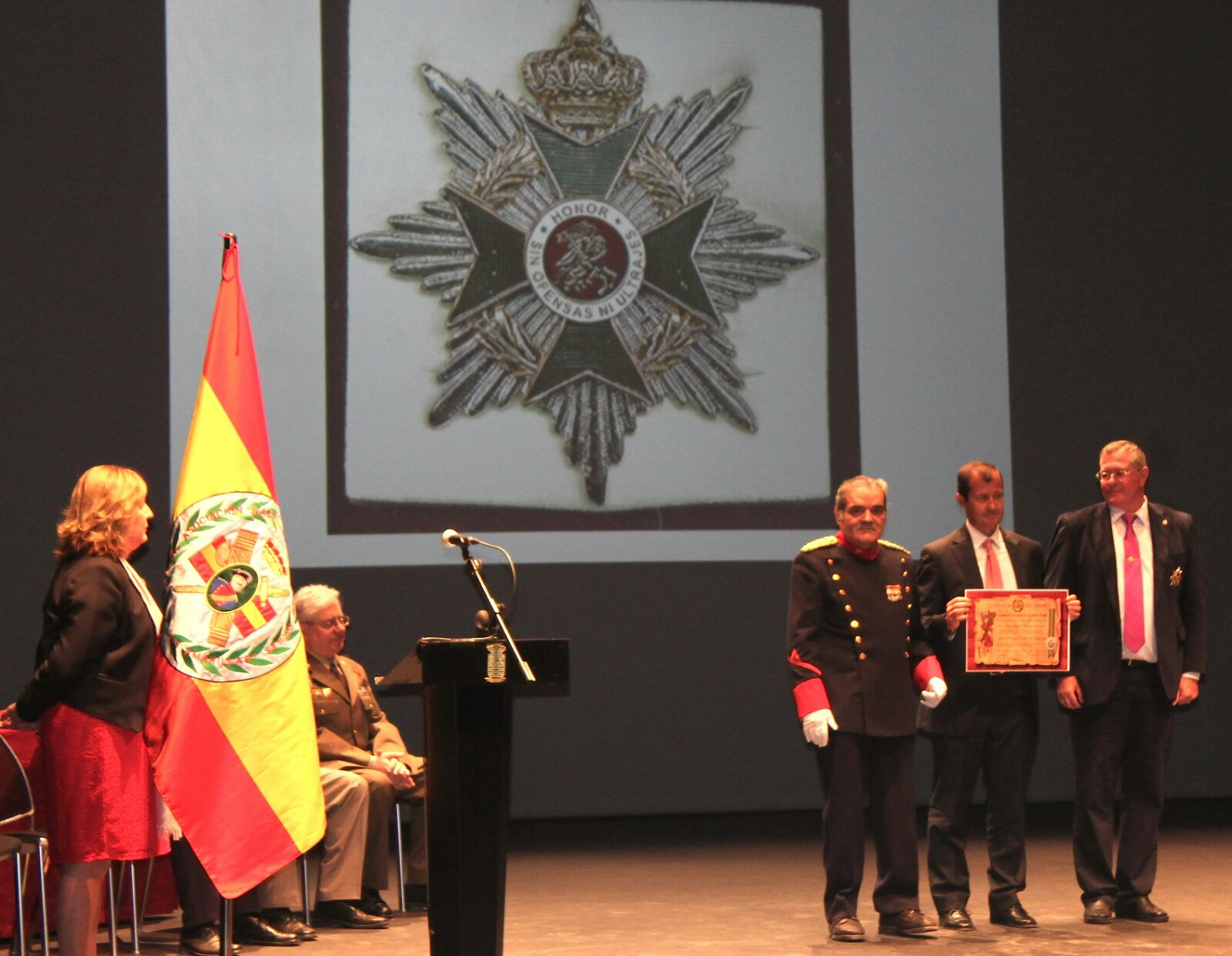 Homenaje a las víctimas del terrorismo y en acto de servicio de las Fuerzas Armadas, Fuerzas y Cuerpos de Seguridad y Seguridad Privada Murcia 2016